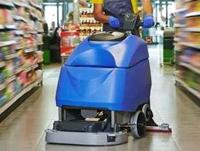 Nettoyage sol industriel : auto-laveuse