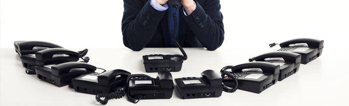 Système téléphonique professionnel