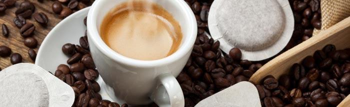 Capsules café et dosettes