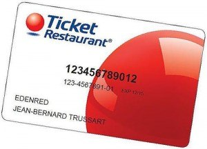 Ticket Restaurant Droit
