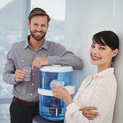 Installation fontaine à eau