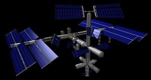 panneaux solaires station spatiale internationale