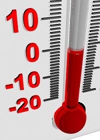 PAC temperature negative