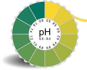 pH eau robinet