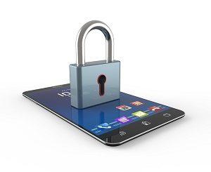 Beveiligde smartphone